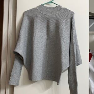 Gray fall sweater